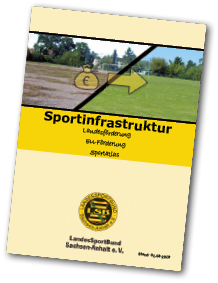 Flyer Sportinfrastruktur