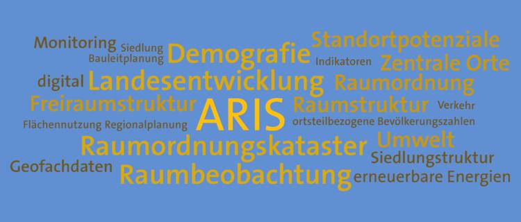 Grafik Amtliches Raumordnungs-Informationssystem ARIS