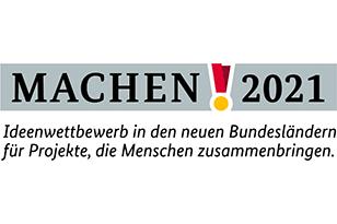 """Logo des Ideenwettbewerbs """"Machen!2021"""""""