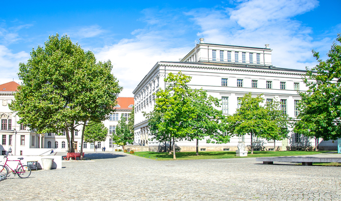 Campus der Martin-Luther-Universität Halle-Wittenberg