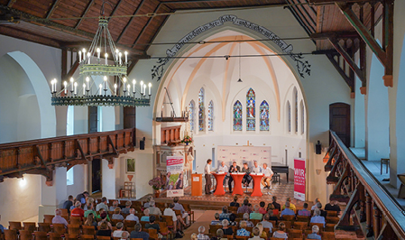 Plenumsdiskussion in der Nicolaikirche in Oebisfelde-Weferlingen